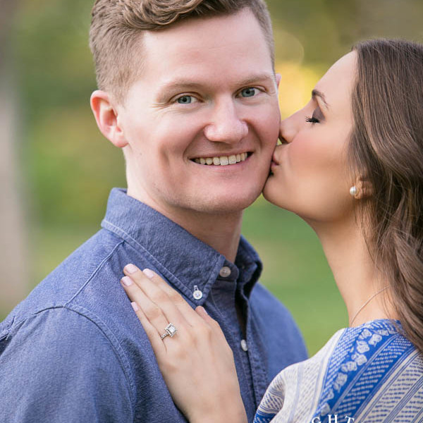 Hailey and Ted - Engagement Session at Highland Park in Dallas