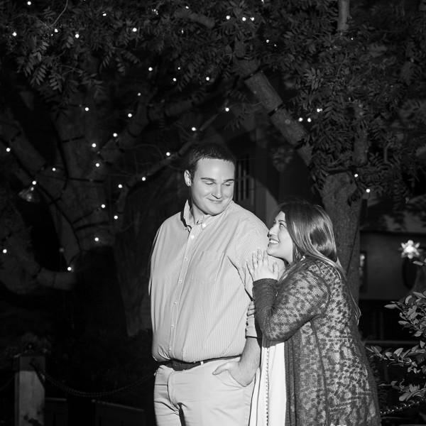 Emily & Brandon Fort Worth Engagement at Trinity Park & Sundance Square