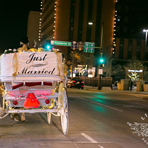 Taylor & Aaron Wedding Reception at Fort Worth Club