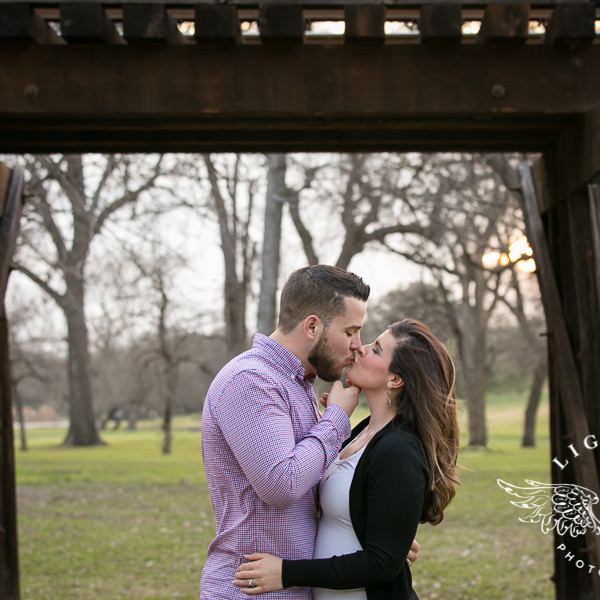 Lauren & Eric - Expecting Portraits at Trinity Park