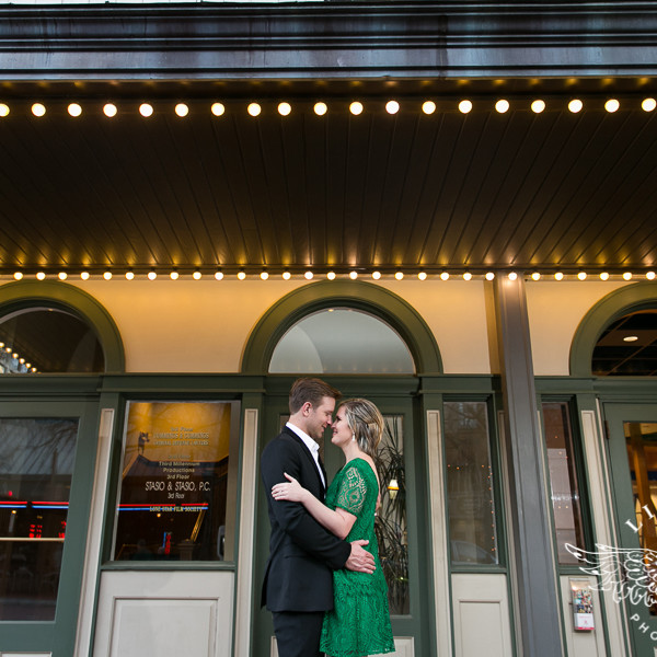 Sarah & Nick-Engagement Session at The Kimball & Downtown Fort Worth