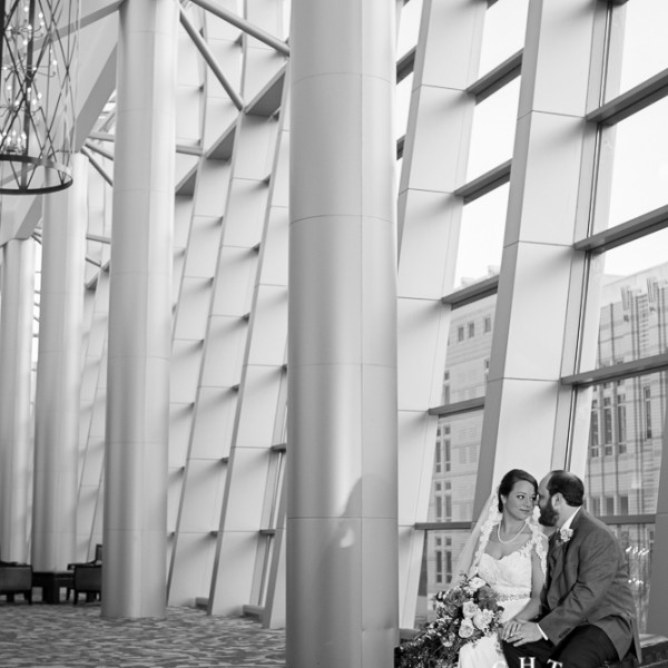 Jenny and Spencer - Wedding Ceremony at The Omni Hotel Fort Worth