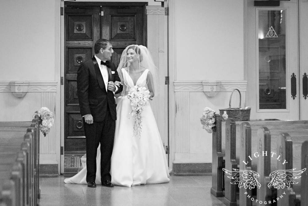 Wedding Holy Trinity Catholic Church Melrose Warwick Hotel Dallas Texas Classic Wedding Amanda McCollu Lightly Photography-059