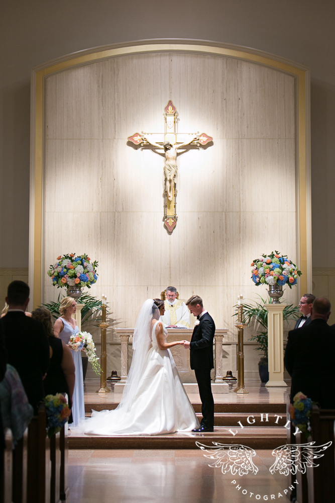 Wedding Holy Trinity Catholic Church Melrose Warwick Hotel Dallas Texas Classic Wedding Amanda McCollu Lightly Photography-074