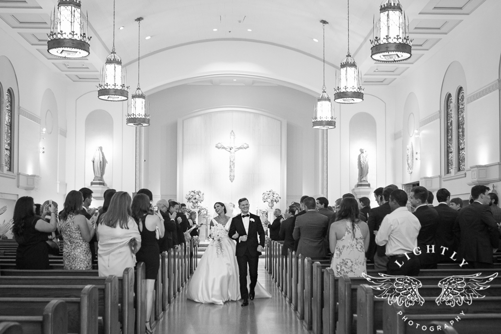 Wedding Holy Trinity Catholic Church Melrose Warwick Hotel Dallas Texas Classic Wedding Amanda McCollu Lightly Photography-077