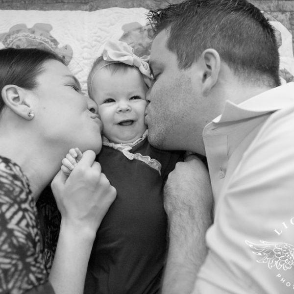 Zach, Jordan and Baby Hannah