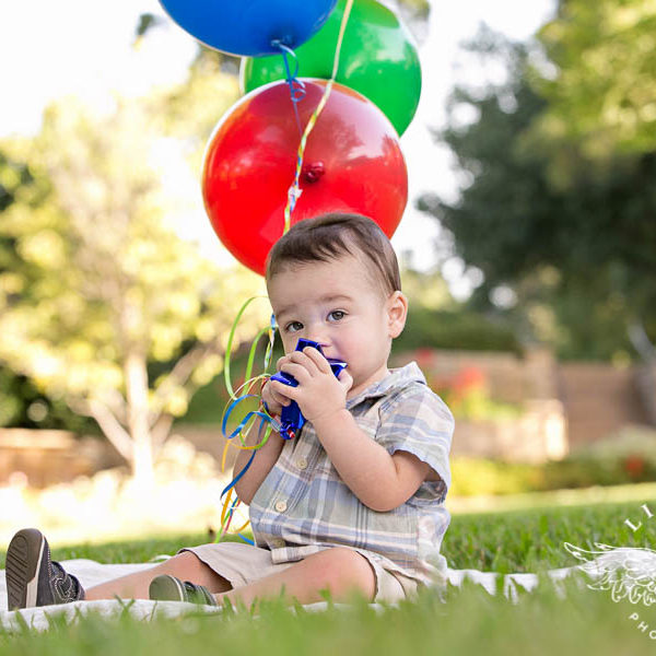 Caleb Turns One!
