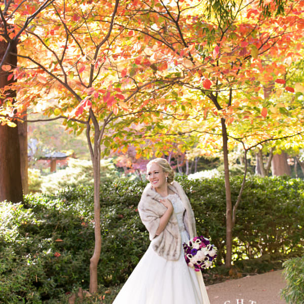 Sara - Bridal Portraits at the Japanese Gardens