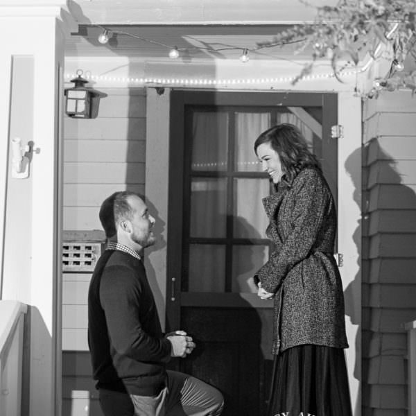 Annie & Josh are Engaged - Proposal Photography