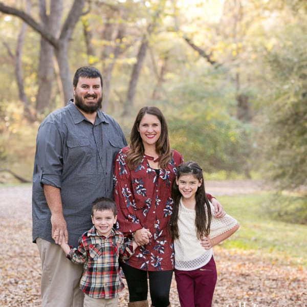 Bohanan Family - Fall Portraits in Trinity Park