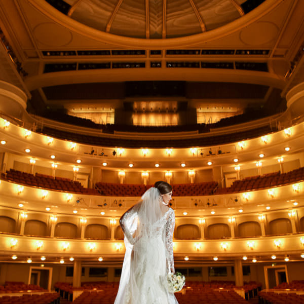Cortni - Bridal Portraits at Bass Hall