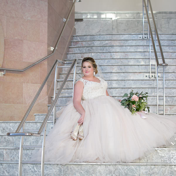 Kailie - Bridal Portraits at Bass Hall
