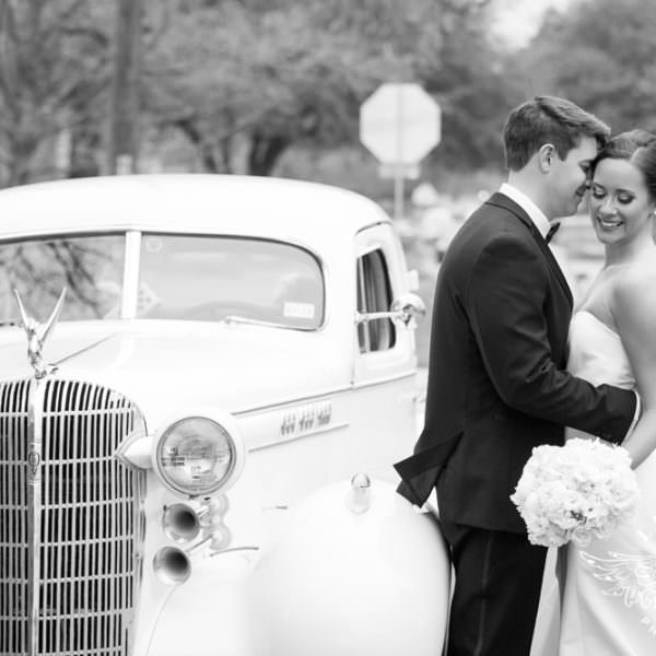 Sarah and Tyler - First Look and Wedding Ceremony at St. Thomas Aquinas