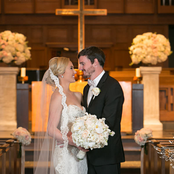 Amanda and John - Wedding Ceremony at University Park United Methodist Church