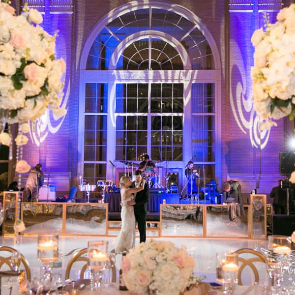 Amanda and John - Wedding Reception at Union Station Dallas