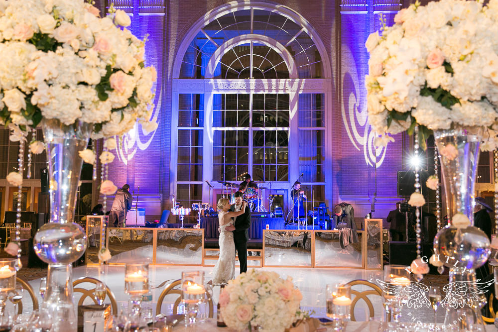 After The Ceremony Everyone Headed Over To Union Station For Party And What A It Was Ballroom Like Something Out Of Fairy Tale