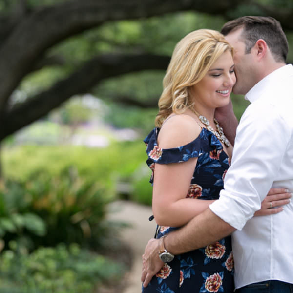 Brooke and Justin - Engagement at Botanic Gardens