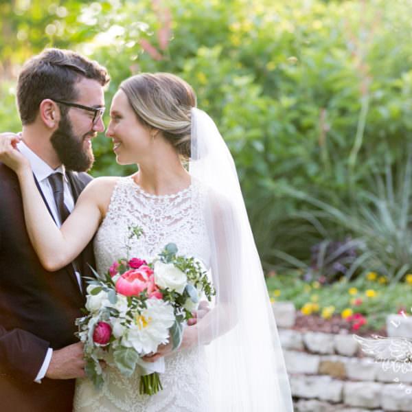 Sarah & Matthew - Reception at the Dallas Arboretum
