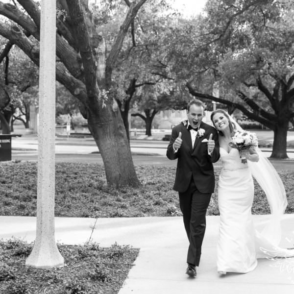 Natalie and Robert - Wedding Ceremony at Robert Carr Chapel at TCU