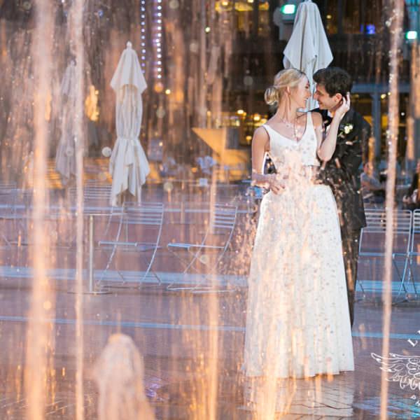 Hannah and Kevin - Wedding Reception at The Ashton Depot