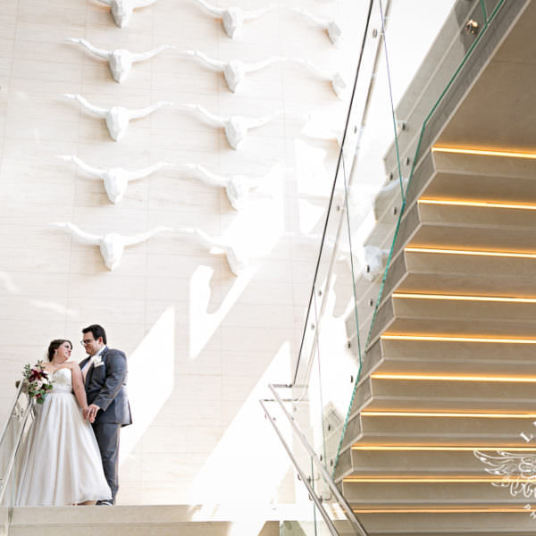 Stephanie & PJ - First Look and Wedding Ceremony at Renaissance Dallas at Plano Legacy West Hotel