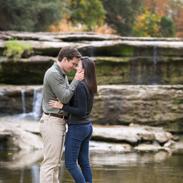 Patricia & Jacob - Engagement Session at Airfield Waterfall and Japanese Gardens
