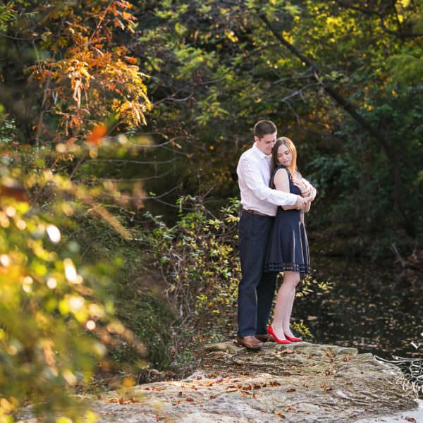 Jenna & Conlan - Engagement Session at Highland Park and White Rock Lake