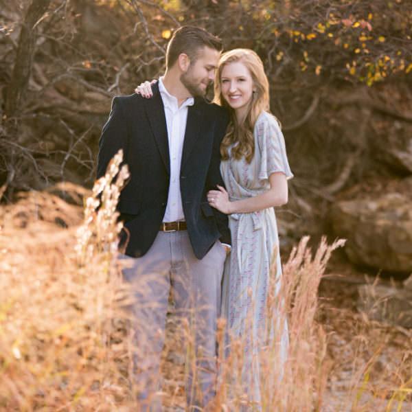 Kendall & Collin - Engagement at Nature Park & Sundance Square