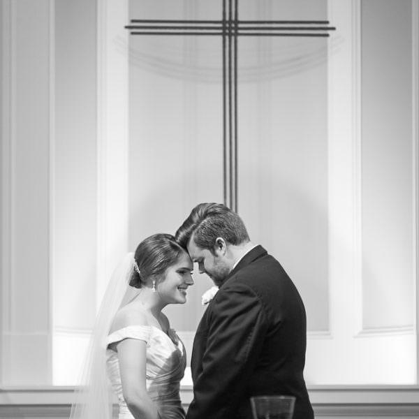 Ali & Caleb - Wedding Ceremony at Robert Carr Chapel at TCU