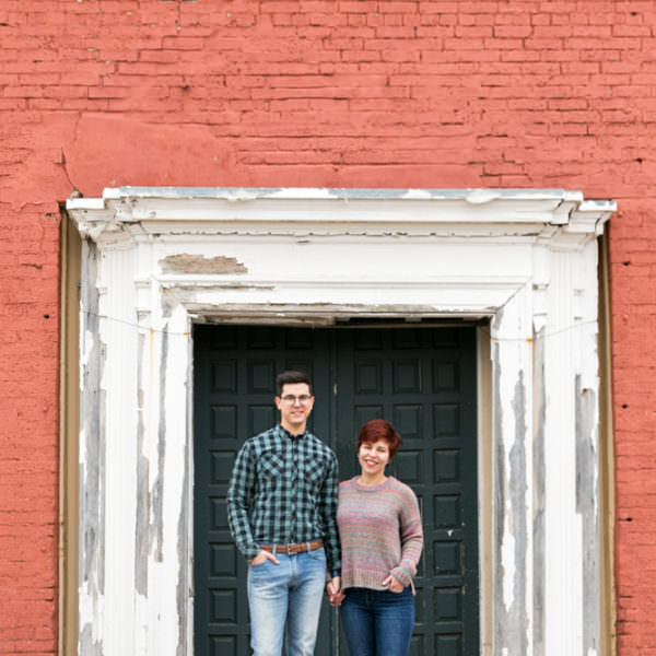 Marisa & Lance - Engagement in Downtown Fort Worth & Magnolia Area