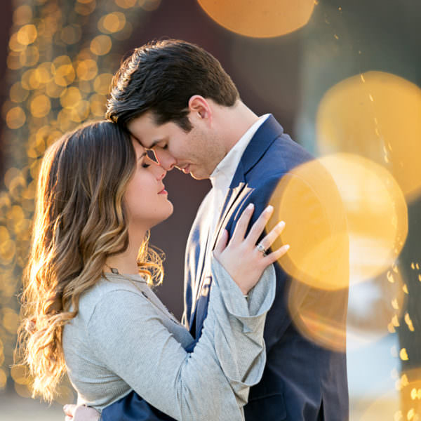 Kristen & Preston - Engagement Portraits at Waterfall and Art Museums