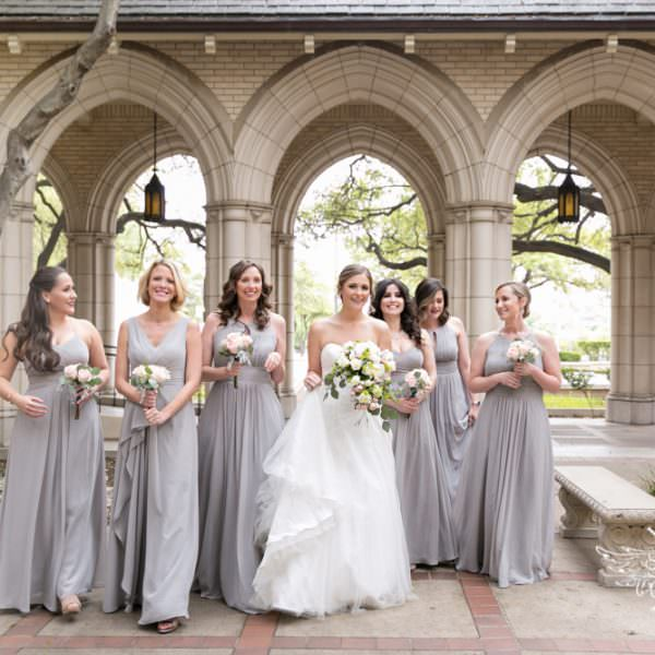 Hallie & Nathan - Ceremony at First United Methodist Church in Fort Worth