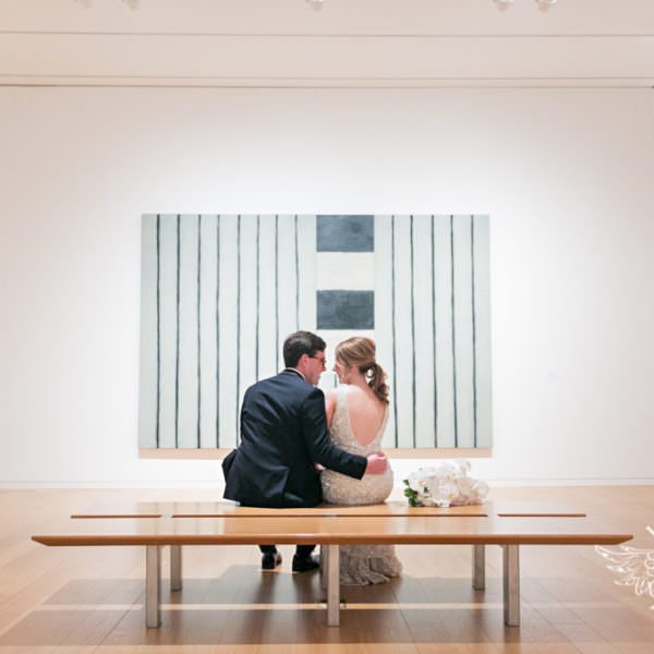 Lizzie & Caleb - Reception at the Modern Art Museum of Fort Worth