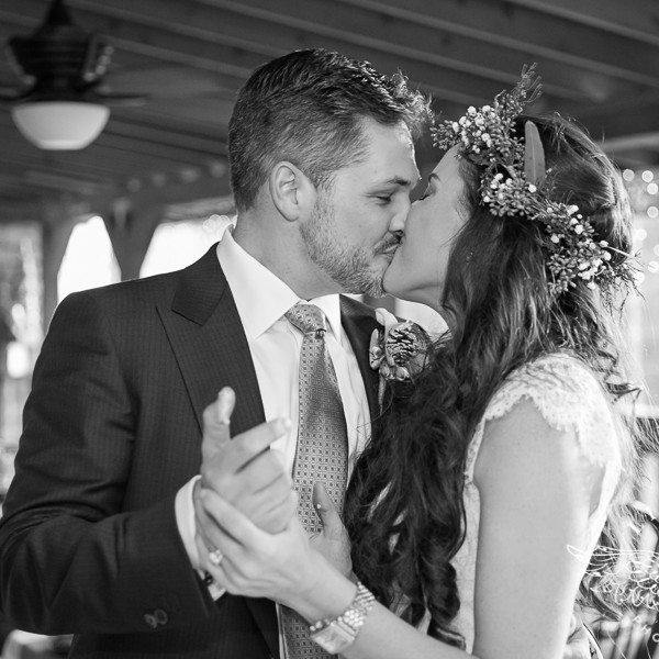 Bree & Robert Intimate Wedding at Weddings in the Pines & Reception at Private Residence