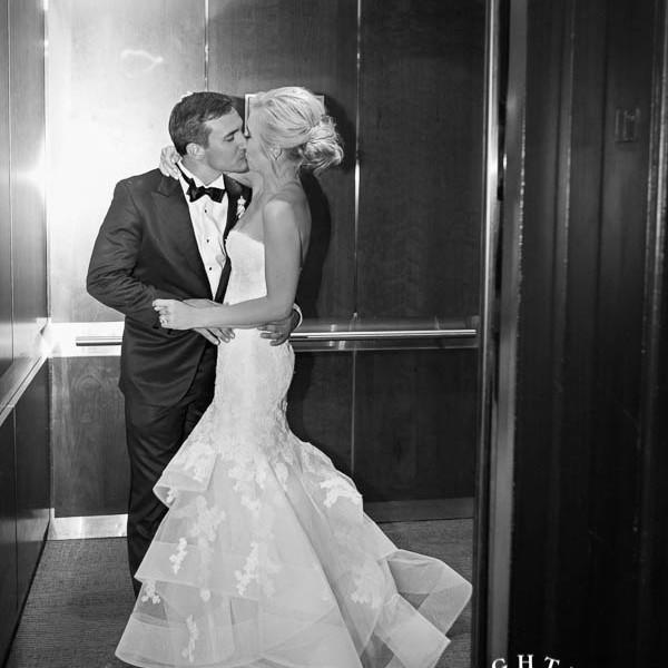 Melanie and Blake - Wedding Reception at The Fort Worth Club