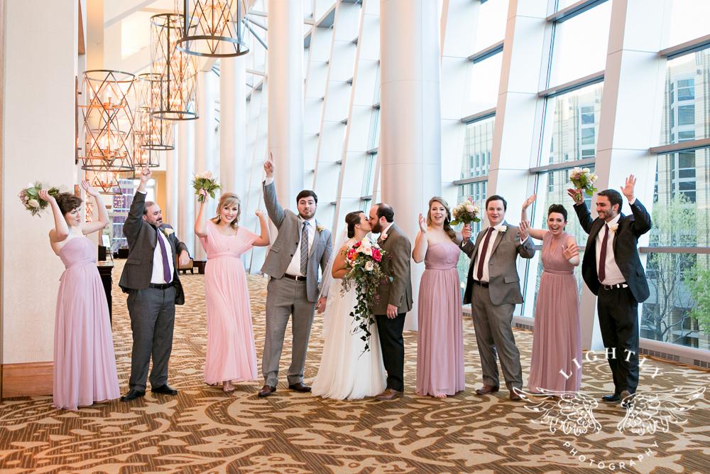 Wedding Omni Fort Worth Bridal Blooms Randy Ro Entertainment Creme de la Creme Amanda McCollum Lightly Photography-034