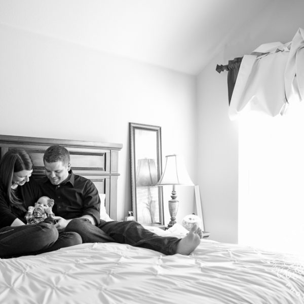 Jordan, Zach & Baby Hannah - Family Portraits