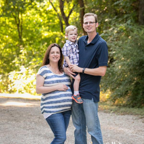 Amy, John & Scott - Family and Maternity Portraits