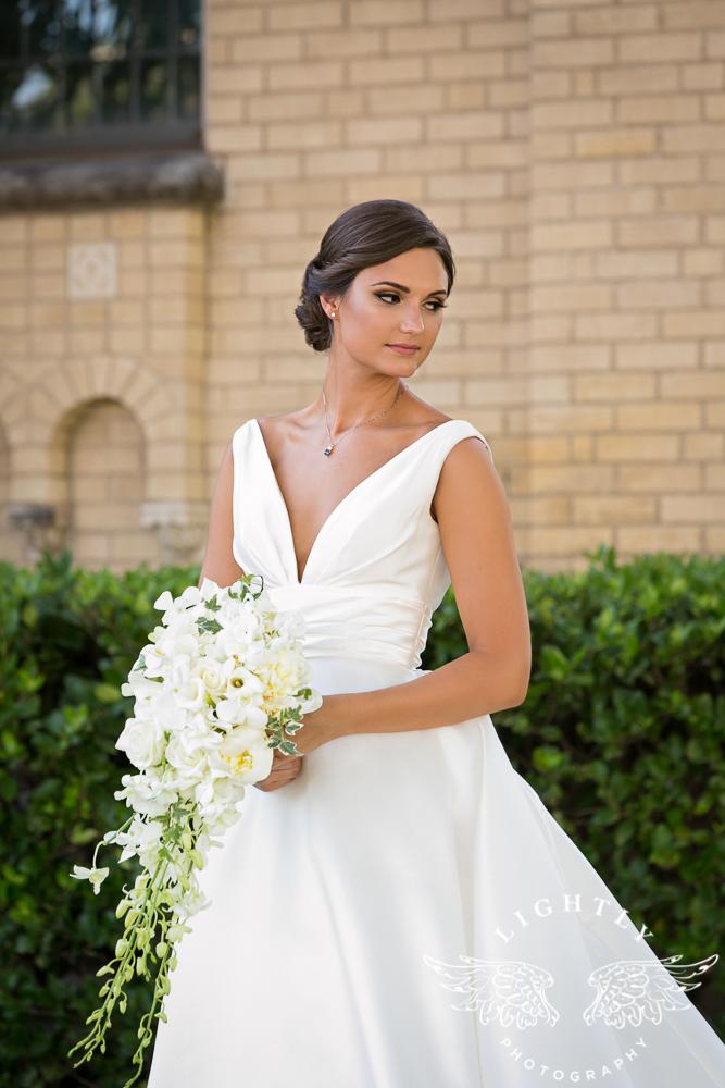 Wedding Holy Trinity Catholic Church Melrose Warwick Hotel Dallas Texas Classic Wedding Amanda McCollu Lightly Photography-049
