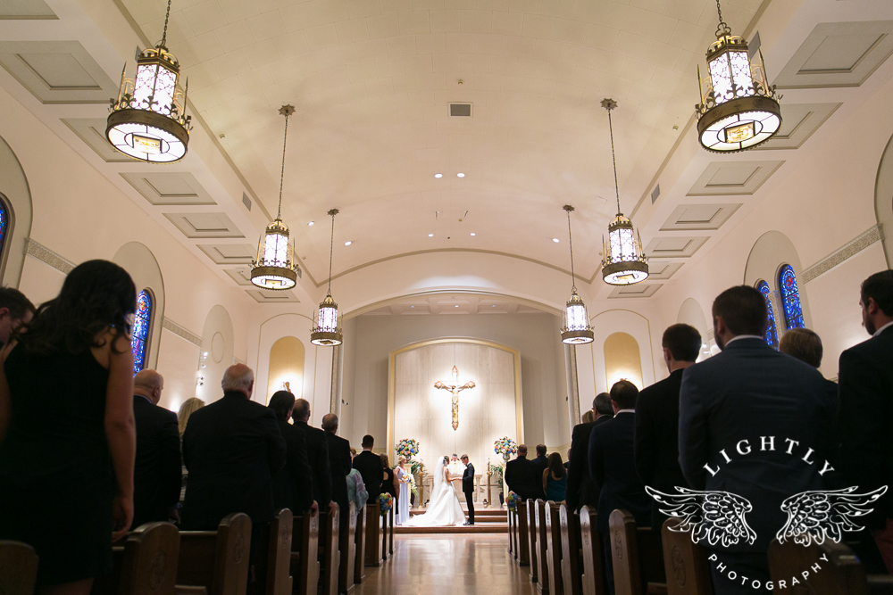 Wedding Holy Trinity Catholic Church Melrose Warwick Hotel Dallas Texas Classic Wedding Amanda McCollu Lightly Photography-073