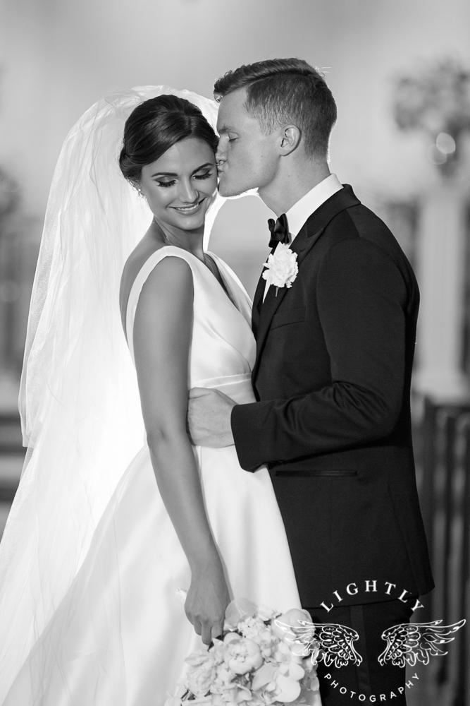 Wedding Holy Trinity Catholic Church Melrose Warwick Hotel Dallas Texas Classic Wedding Amanda McCollu Lightly Photography-082