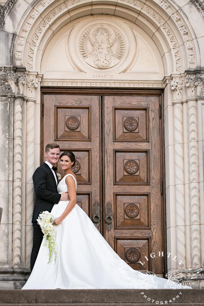 Wedding Holy Trinity Catholic Church Melrose Warwick Hotel Dallas Texas Classic Wedding Amanda McCollu Lightly Photography-086
