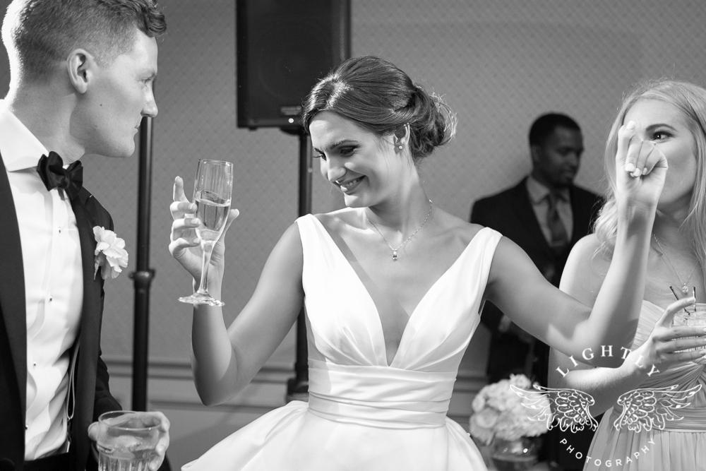 Wedding Holy Trinity Catholic Church Melrose Warwick Hotel Dallas Texas Classic Wedding Amanda McCollu Lightly Photography-109