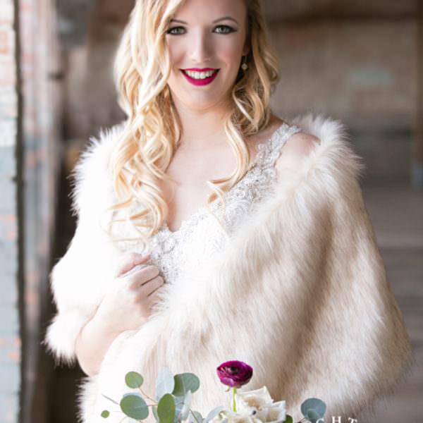 Chandler Bridal Portraits - McKinney Cotton Mill