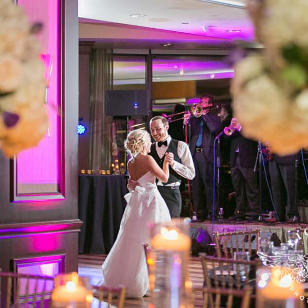 Sara and Matt - Wedding Reception at The Petroleum Club