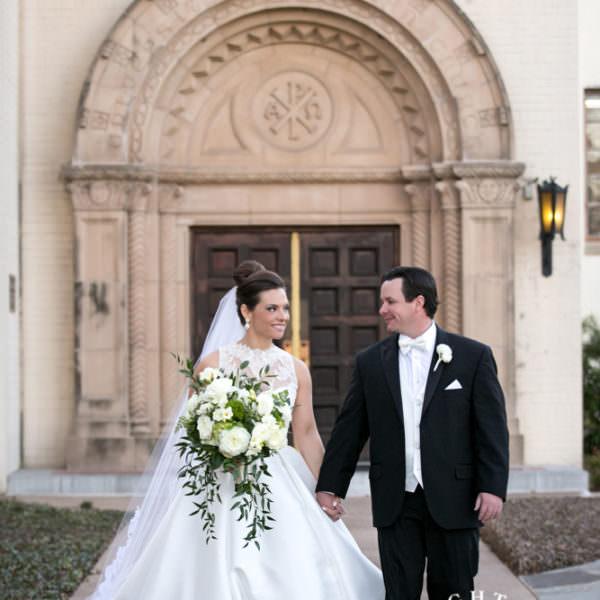Diana & Kylan - First Look and Wedding at University Christian Church