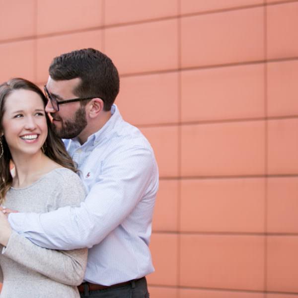 Sarah & Matthew - Engagement Session in Deep Ellum & Klyde Warren Park