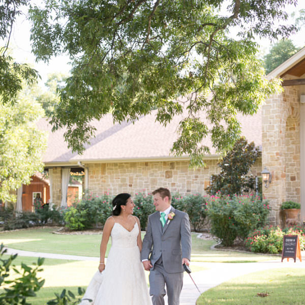 Erika & Joel - Wedding Ceremony at The Orchard