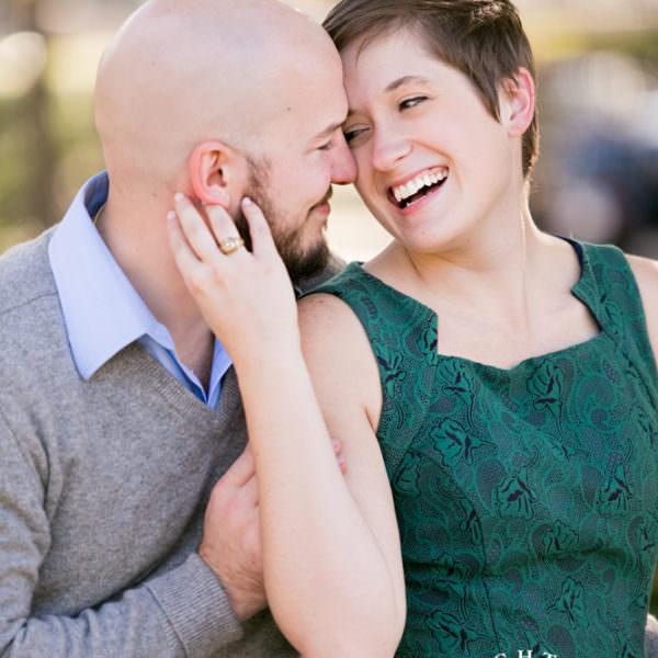 Elisa & Billy - Engagement Session in Arlington & Veteran's Park