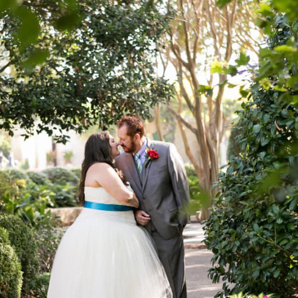Jan & Donnie - Wedding Ceremony & Reception at Dallas Arboretum